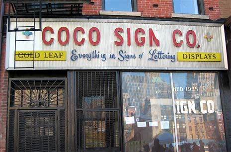 coco sign co